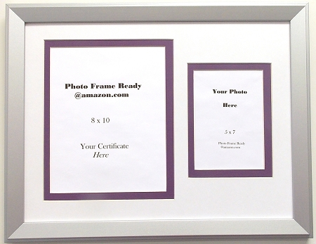 Graduation Diploma University Certificate 8 X 10 with 5 X 7 Photo ...