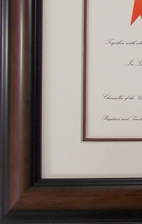 university diploma photo frame 8 12 x 11 with 5 x 7 photo
