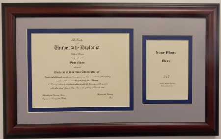 Graduation University Diploma Certificate Document Photo Frame ...