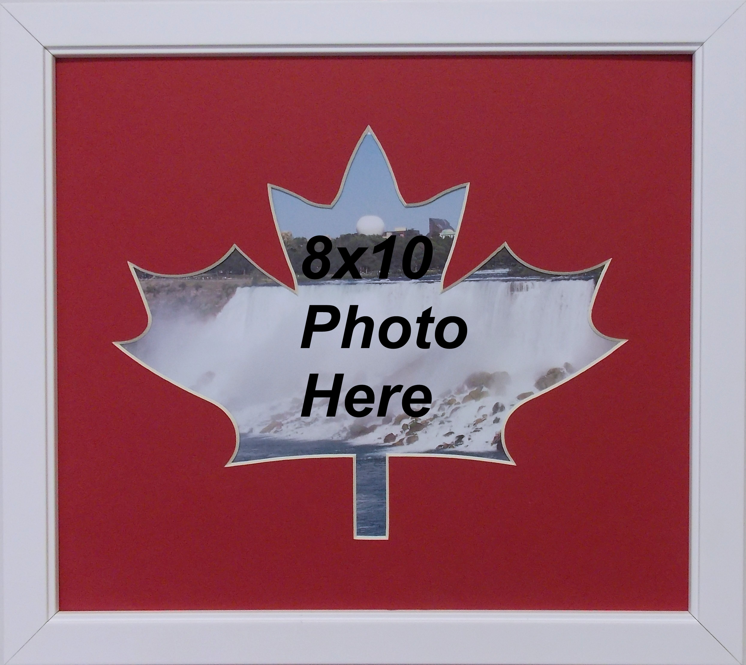 Canadian Maple Leaf 150 Year Celebration Wall Mount Red
