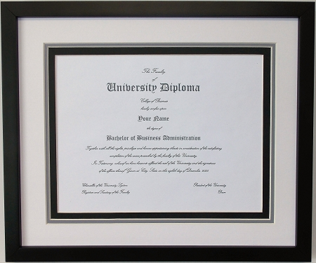 Graduation Diploma College or University 8.5x11 Certificate Document ...