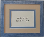 Home Decor Decorative Wall Quote Sign Beach Summer- Take me to the Beach 8x10
