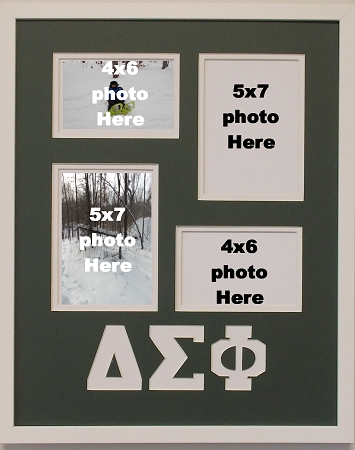 Delta Sigma Phi Fraternity 16x20 collage photo mat and wall mount ...