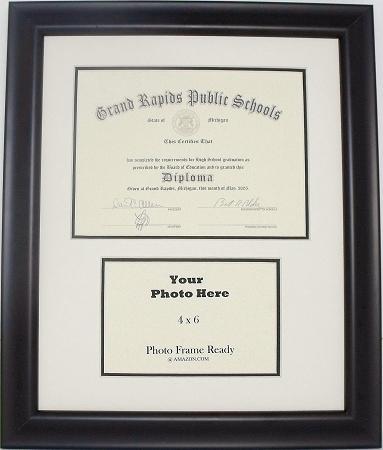 High School Graduation Diploma Creme Amp Black Certificate