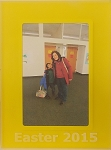 Easter 2015 Yellow Acrylic Tabletop Photo Frame