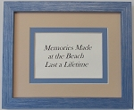 Home Decor Decorative Wall quote Sign Beach Summer- Memories are made at the beach
