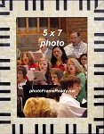 Music Piano Keyboard Photo Frame 5x7 Table Top Photo Frame