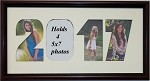 Graduation Year 2017 Collage Photo Frame for 4- 5x7 Photos