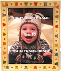 Baby Infant Childrens Teddy Bear 8x10 Table Top Photo Frame