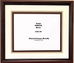 Graduation Diploma College or University 8x10 photo Certificate Document frame  Cherry Frame