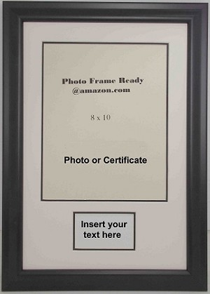 Graduation Diploma Or Certificate Photo Frame 8x10 With