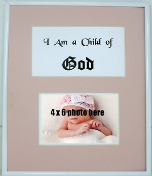 Christian Childrens Wall Mount I Am A Child Of God Photo