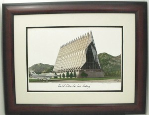 United States Air Force Academy, Colorado Springs CO Framed Print