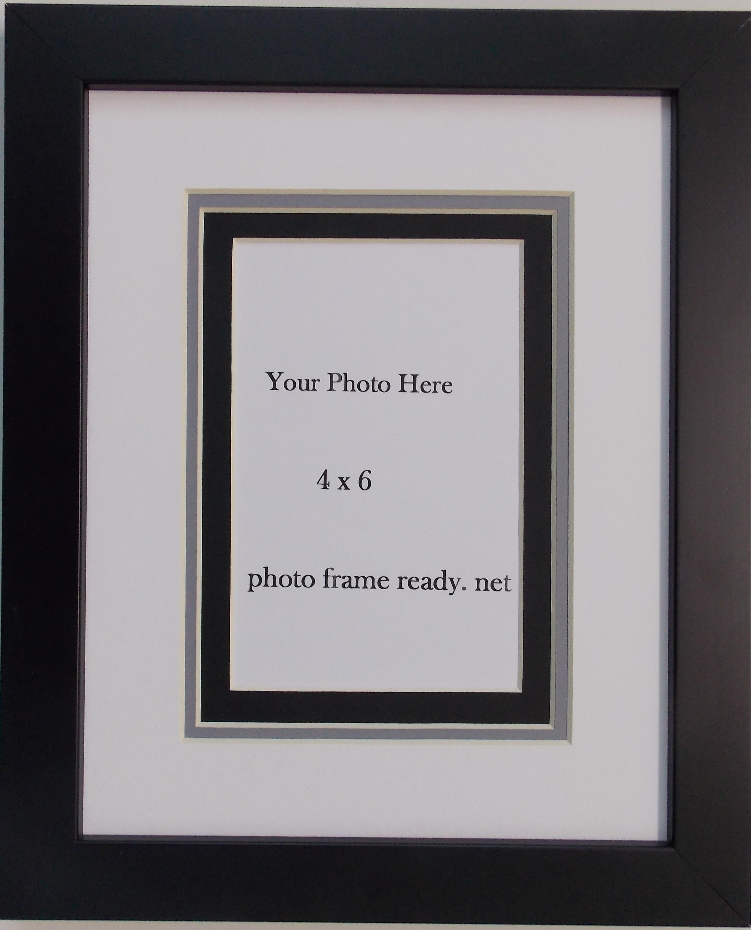 Triple Aperture Mounts for 6x4 inch photos