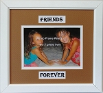 Friends Forever Wall  Mount 5x7 Photo Frame