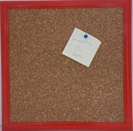 Red Cork Board 12 x 12