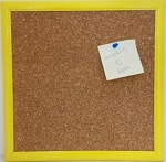 Yellow Cork Board 12 x 12