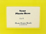 Table Top Photo Frame Yellow Color Acrylic 4x6 Childrens Accessories