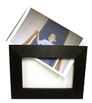 Tabletop Changable 4x6 Picture Photo Frame Black