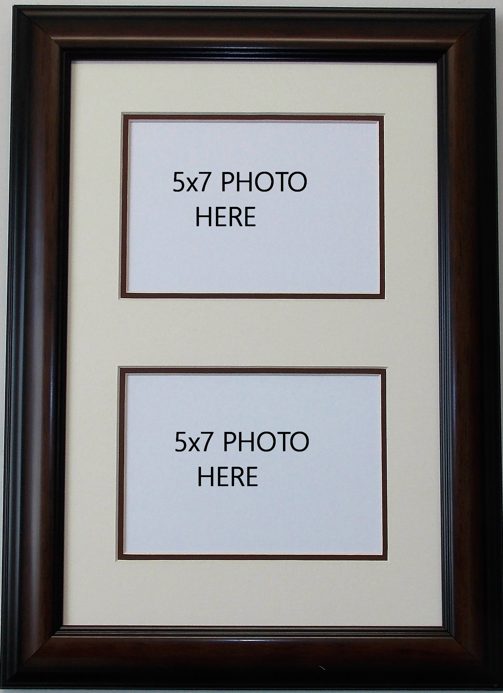 Home Tabletop Wall Mount Frames Photo 5x7 Openings Double Multimat Holds Two 2 Photos