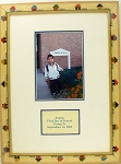 Back To School Children or pre-school Family Photo Frame with message area