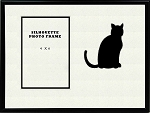 Animal Black Cat Pet Photo Frame Table Top 8x10 Holds 4x6 Photo Opening