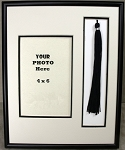 High School Graduation Tassel & Photo Frame for 4x6 Photo