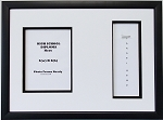 High School Graduation Certificate Document 6x8 PORTRAIT with Tassel opening Black Picture Frame