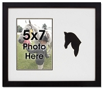 Horse Equestrian Photo Frame for 5x7 Photo