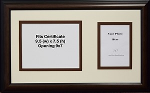 Certificate opening 9x7