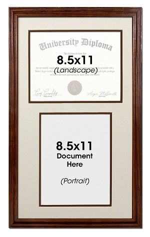 "Fits two 8.5""x 11"" documents, both orientations"